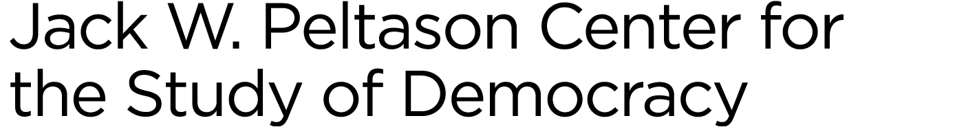 Jack W. Peltason Center for the Study of Democracy